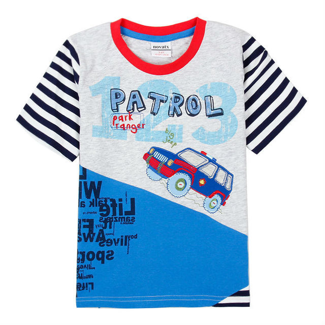 7a10069f 5pcs/lot baby boy t shirt summer clothes for boys letter kids boys shirts  cartoon