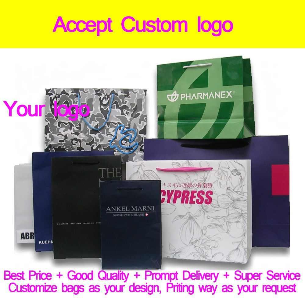 Hot sprzedaż promocyjna papier prezent torba z uchwytami