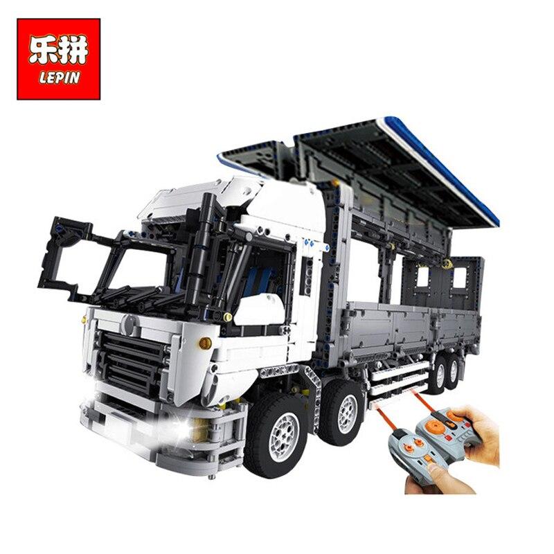 DHL Лепин 23008 новые технические серии MOC крыло тела грузовик 1389 развивающие игрушки Building Block кирпичи для детей подарки