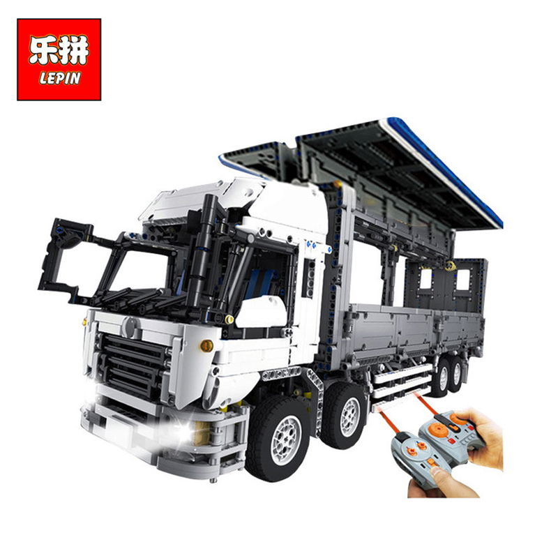 DHL Lepin 23008 New Technical Series The MOC Wing Body Truck Set 1389 Educational Toys Building Block Bricks to Children Gifts 23008 4380pcs technical series the moc wing body truck set compatible with 1389 educational building blocks children toys