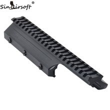 UTG 4th Gen Tactical FAL Picatinny Mount MNT-981C (Negru) -Transport rapid