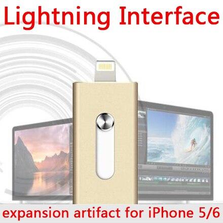 Pendrive 2TB 1TB 8gb 16gb 2gb 64gb Micro Usb Pen Drive OTG Lightning/Otg Usb Flash Drive 512GB For IPhone 5s/6/6s/7 Plus/8/Ipad