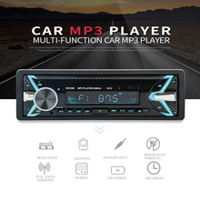 New 12V Car audio stereo Car Radio Bluetooth V3.0 In-dash 1 Din FM Aux Input Receiver SD USB MP3 MMC WMA Car Radio Player 12v car radio vehicle electronics in dash mp3 audio player hifi car stereo with 4 loudspeakers fm stations mp3 wma usb sd port