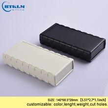 1 шт. DIY пластиковая коробка для электроники, АБС Пластиковая распределительная коробка, diy динамик PCB, настольный провод, соединительная коробка 140*68,5*28 мм