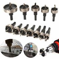 12 Pcs Hole Saw Tooth Kit Hss Staal Core Boor Set Cutter Tool Voor Metaal Hout Legering Core Boor bit Sets Tool Accessoires