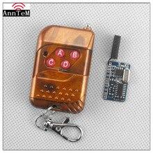 Anntem 315 МГц и 433 МГц RF 3 Режим работы 4CH Mos переключатель дистанционного управления DC3.3v до 12 в приемник передатчик обучающий код контроль Лер