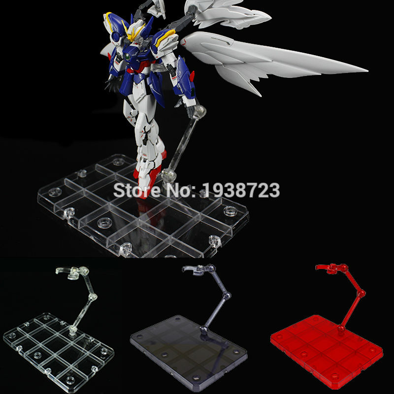 Action figure base suitable display stand bracket for 1//144 HG//WD