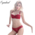 Oyadeal Mulheres Lace Bra sets Breve Top Sutiã Sexy Lingerie Roupa Interior 1/2 Xícara Ultra-Fino Tribunal vinha jacquard Sutiã conjunto