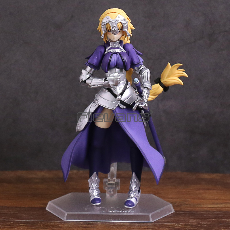 figma 366 Fate Grand Order Ruler Jeanne D' Arc PVC Action Figure Collectible Model Toy fate grand order anime saber jeanne gilgamesh e f g h i j series japanese rubber keychain