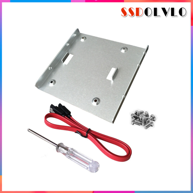 2.5 Inch SSD HDD To 3.5  Metal Mounting Adapter Bracket Dock Hard Drive Holder For PC Hard Drive Enclosure 120gb for kingston