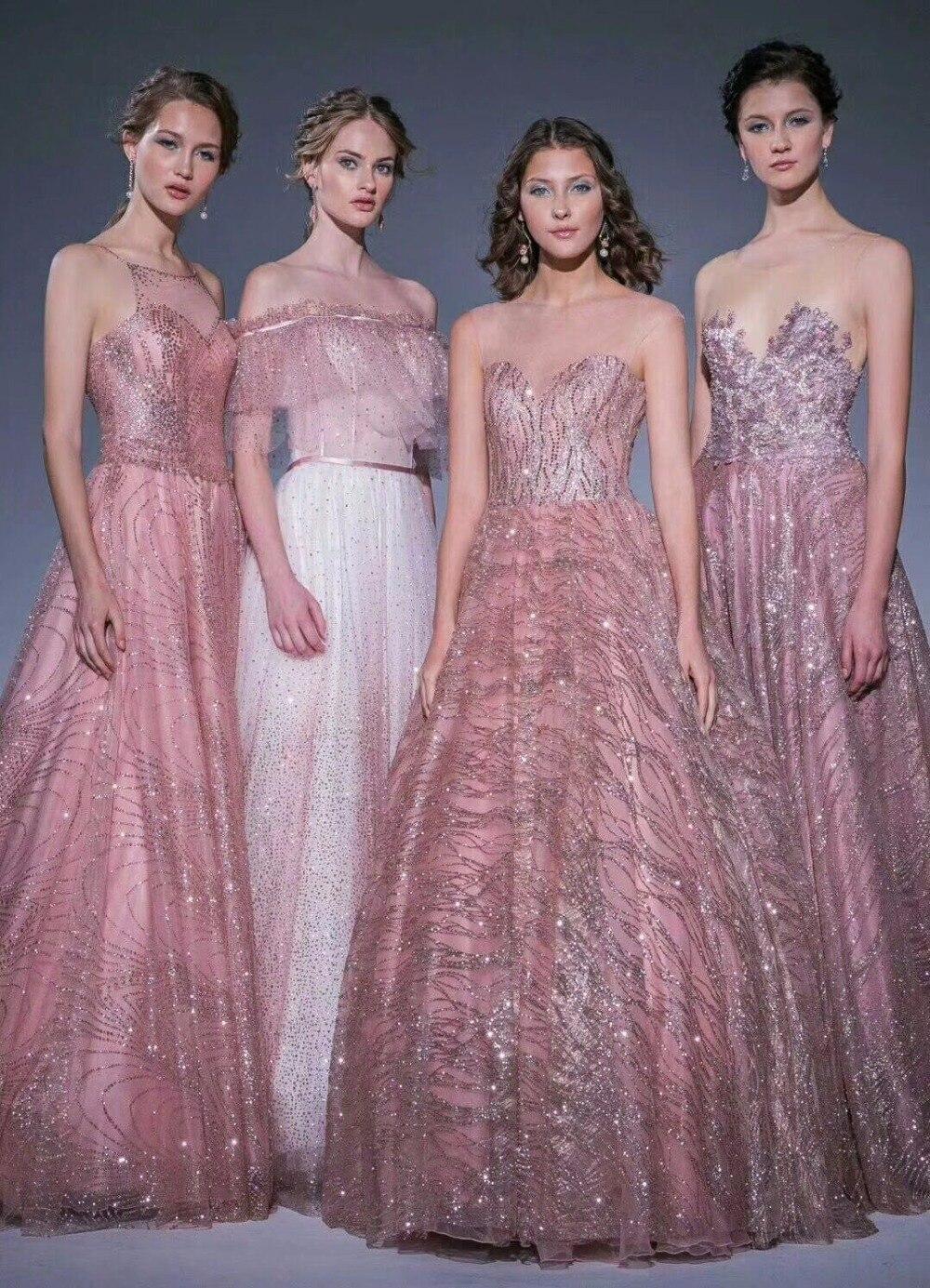 cor nu ouro rosa colado faísca glitter