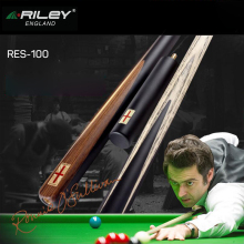 RILEY RES-100 3/4 Snooker Cue For Competition High-end Billiard Kit Stick with CC-SR1 Case Extension 9.5mm Tip