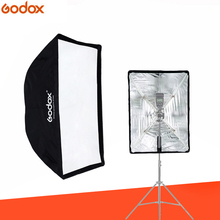Godox 50 * 70cm / 20″ * 27.6″ Portable Reflector Umbrella Studio Softbox for Speedlight Flash Light