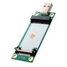 цена на Mini PCI-E Wireless WWAN to USB Adapter Card with SIM Card Slot Module Testing Tools