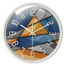 Nordic Art Wall Clock Mute Fashion Creative Clocks Home Decor Living Room Bedroom Silent Large Decorative 50Q167