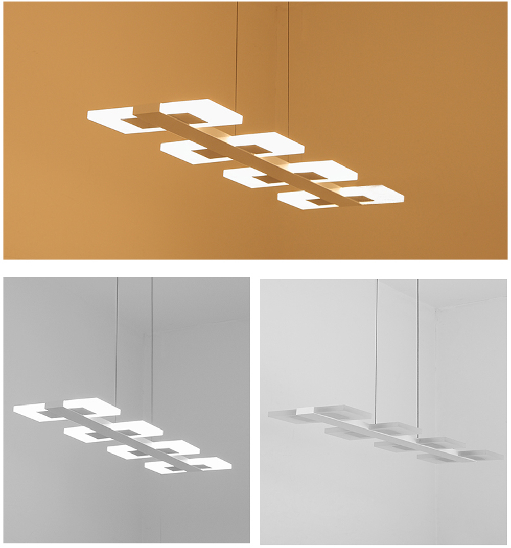 suspendus linéaire suspension lumières réglable lampe suspendue