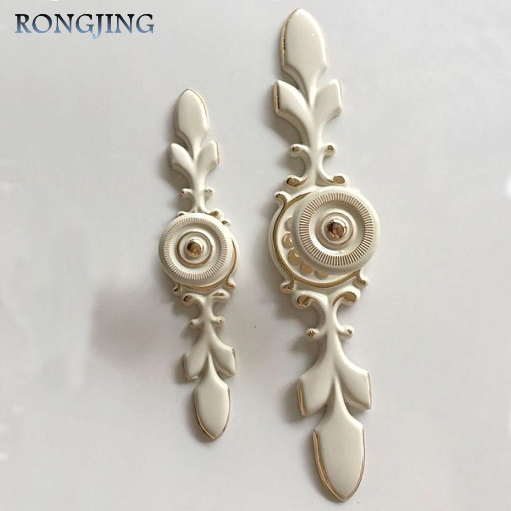 Antique Cabinet Drawer Handles Ivory Vintage Kitchen Cabinet Cupboard Closet Knobs Dresser Closet Wardrobe Pulls 120mm/170mm накладной светильник 181541 456612 marksojd