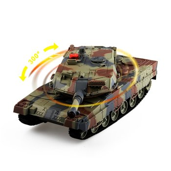 1/24 RC Tank Crawler IR Remote Control Toys Simulation Infrared RC Battle Tank Toy Best Birthday Gifts for Kids Boys