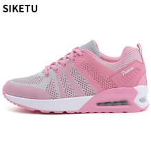 2018 Fashion Korean Women Shoes Spring Tenis Feminino Casual Shoes Outdoor Walking Shoes Women Flats Pink Lace Up Ladies Shoe 2018 hot sale new fashion women casual shoes tenis feminino outdoor walking women flats breathable zapatillas casual shoes