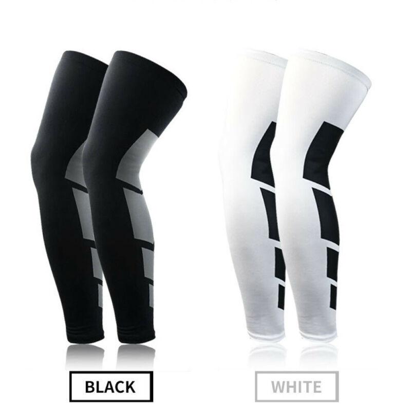 Модные Компрессионные носки до щиколотки для фитнеса, гольфы, спортивные носки с рукавом до бедра для мужчин и женщин, 2019