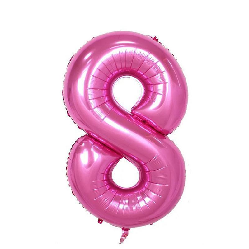 40 Inch Nummer 18 Folie Ballonnen Digit Helium Ballon