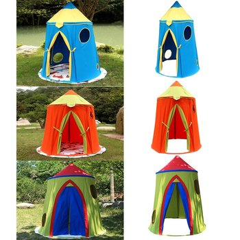 Portable Castle Dome Children Play Tent Kids Play House Game Toy Tents Playhouse for Baby Toddler Indoor Outdoor Fun