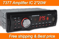 רכב רדיו נגן MP3 FM/USB/1 Din/יציאת USB 12 V אודיו לרכב האוטומטי סטריאו לרכב MP3 משלוח חינם 2*20 W מכירה חמה EQ אפקט הטוב ביותר מחיר