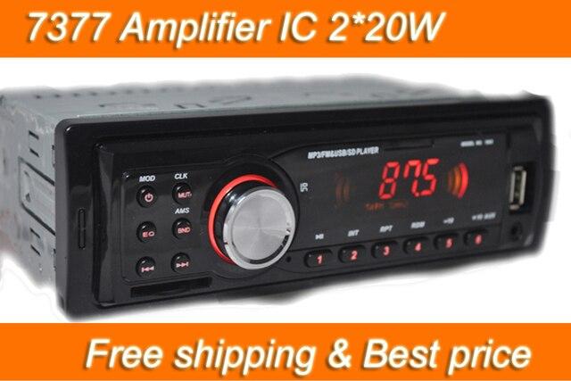 Auto Radio Player MP3 FM/USB/1 Din/usb anschluss 12 V Auto Audio ...