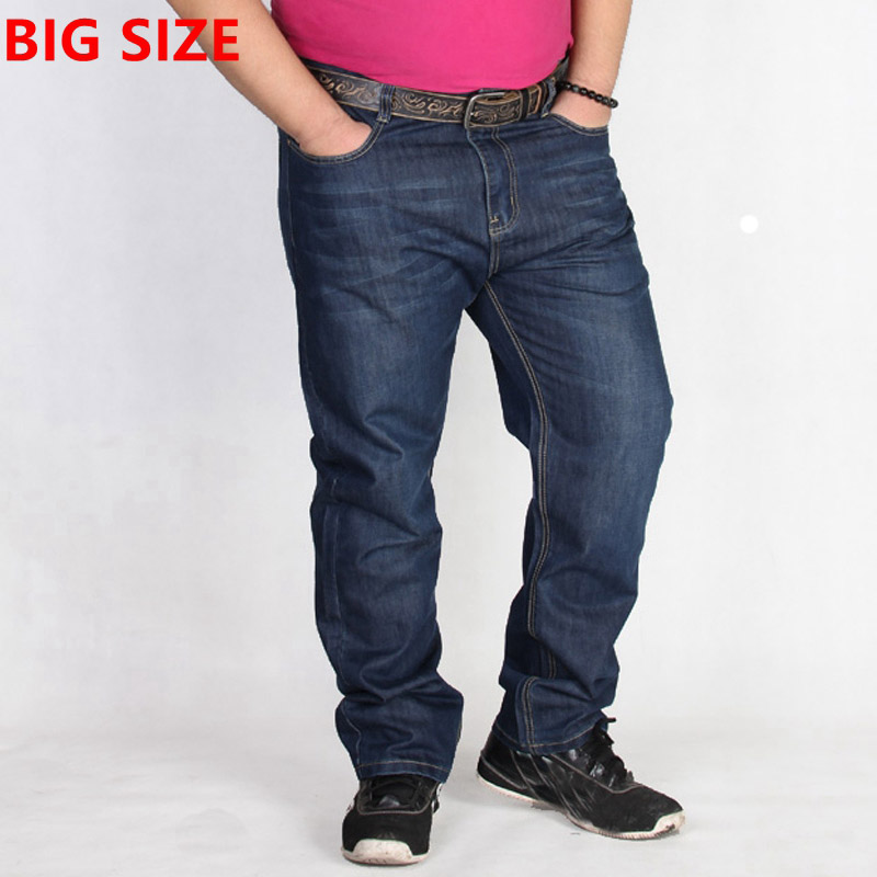 Big men thin jeans loose size male waist fat people wear ...