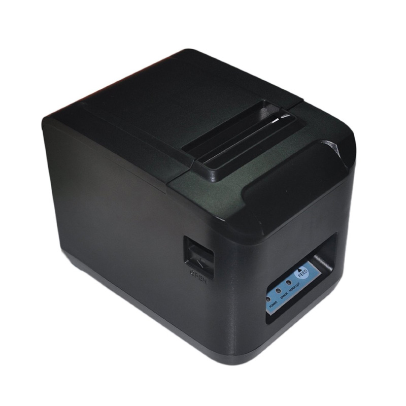 260MM/Sec   80MM Thermal Receipt Printer with Auto Cutter  pos printer  USB+LAN+Serial  Port  thermal bill printer serial port best price 80mm desktop direct thermal printer for bill ticket receipt ocpp 802