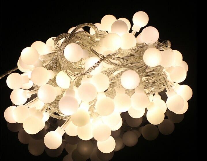 20M 200 LED Bulbs Matte Globes Round Balls Fairy String Lights Lamps  Wedding Party Christmas Garden Outdoor Indoor Decor x 30pcs - 20M 200 LED Bulbs Matte Globes Round Balls Fairy String Lights Lamps