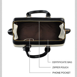 Image 5 - Vintage حقيبة الطبيب الكلاسيكية الموضة حقيبة جلدية أصلية العلامة التجارية الشهيرة مصمم حقائب النساء عالية الجودة السيدات حقيبة جلدية حقيقية