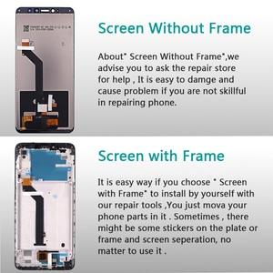 Image 3 - IPS LCD Display Voor Xiaomi Redmi S2 Touch Screen Digitizer Vergadering Frame Voor Xiaomi Redmi S2 LCD 5.99 inch Glas film