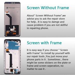 Image 3 - IPS LCD תצוגה עבור Xiaomi Redmi S2 מגע מסך Digitizer הרכבה מסגרת עבור Xiaomi Redmi S2 LCD 5.99 אינץ זכוכית סרט