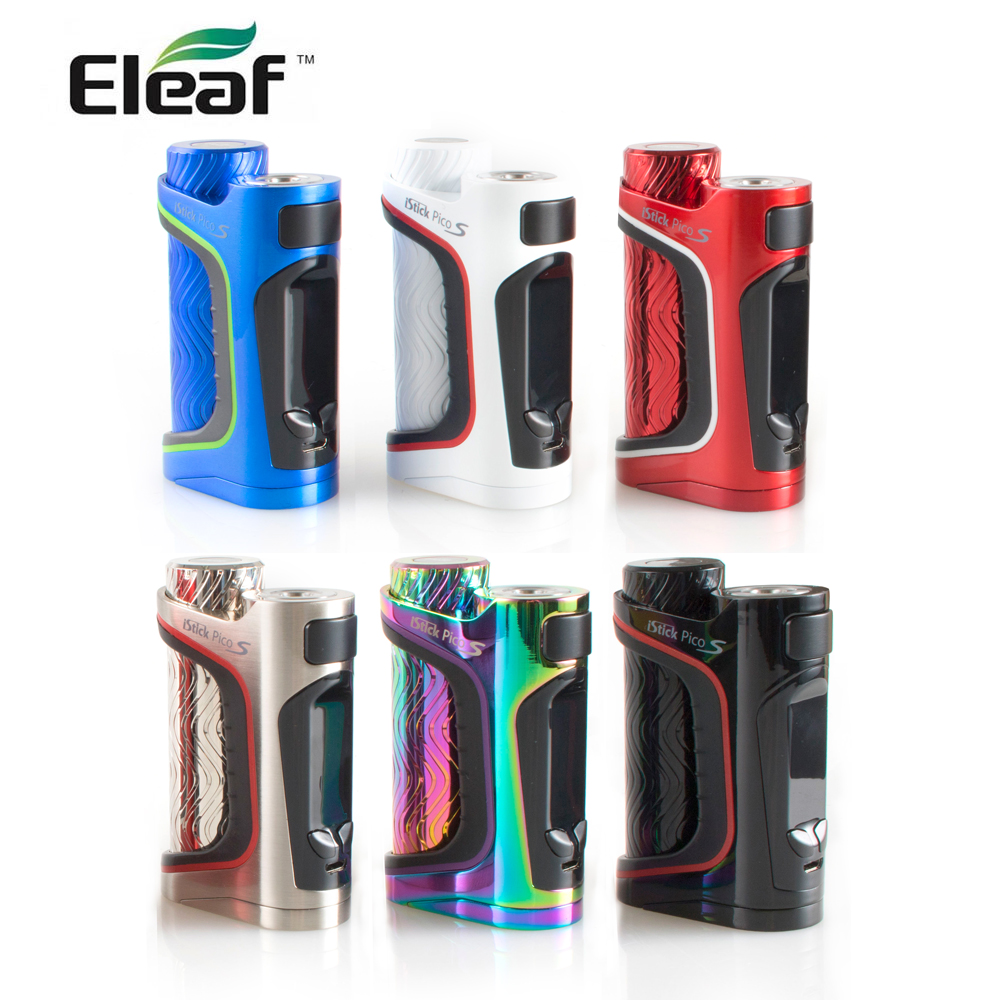 IN STOCK Original Eleaf iStick Pico S 21700 Box Mod 100W VW Bypass TC Ni Ti