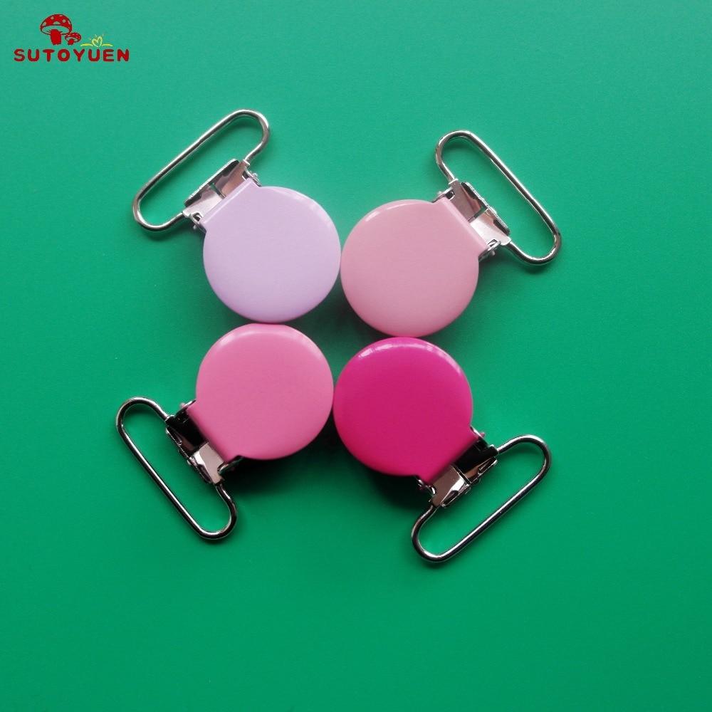 50 stks emaille ronde metalen jarretelle clips met plastic tanden, - Voeden - Foto 3