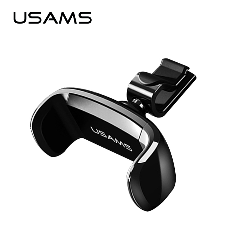 USAMS Car Holder for iPhone Samsung Mobile Phone Holder Car Air Vent Mount Holder 360 Ratotable Mobile Phone Holders & Stands