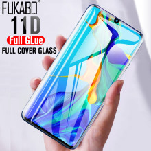 11D Full Tempered Glass For Huawei P30 Mate 20 Pro P smart 2019 Honor 10 Lite Screen Protector For Huawei Nova 2i 3E 4E Film(China)