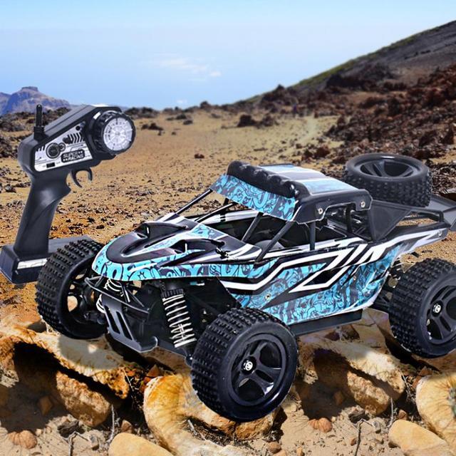 G18-3 1:18 2.4g tracción a las cuatro ruedas de alta velocidad fuera de la carretera coche de control remoto fuera de la carretera de velocidad del vehículo modelo toys para niños