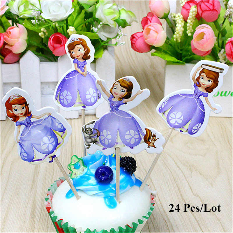 Miraculous Topper Princess Sofia Birthday Cake Decorating Supplies Kids Party Birthday Cards Printable Benkemecafe Filternl