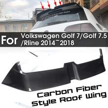 NEW Spoiler Carbon Fiber Style Roof Wing windshield Trunk wi