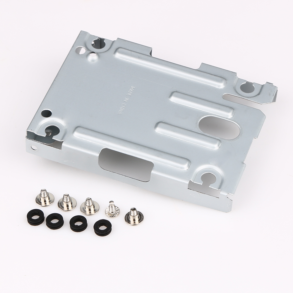 Game Console Super Slim Hard Disk Drive Mounting Bracket Internal HDD Metal Mount Case with Screws For Sony Playstation 3 PS3