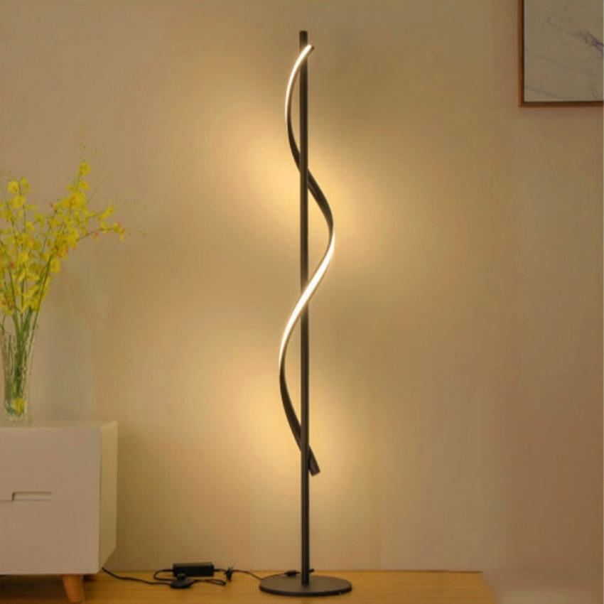 Image 5 - JAXLONG Modern LED Floor Lamp Living Rooms Standing Lamp Pole Floor Light Rooms Standing Light Bedrooms Office Dimmable Lighting-in Floor Lamps from Lights & Lighting