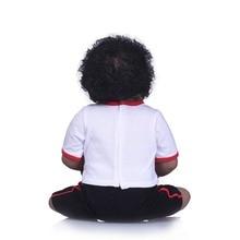 NPK Bebes Reborn Dolls Realistic Full Silicone Baby Boy Doll In Cute Hair Style Reborn Alive Baby Dolls Girls Playmate Toys