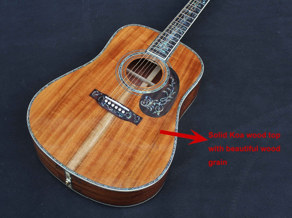 popular handmade acoustic guitars buy cheap handmade acoustic guitars lots from china handmade. Black Bedroom Furniture Sets. Home Design Ideas