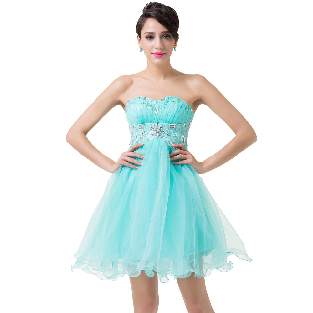 Pretty clearance cocktail dresses under 50 gallery wedding ideas pale turquoise prom dresses short elegant beaded graduation dress ombrellifo Choice Image