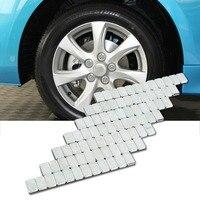 2018 Hot 100PCS Adhesive Lead Free Stick On Wheel Balance Weights 12x 5g Cars Motorbike Adhesive Cars Tire Balance Block J20C21