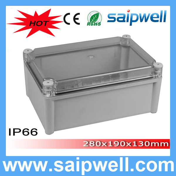 New Hot Sale Saipwell High quality DS AT 2819 waterproof plastic enclosure ip66 280 190 130mm