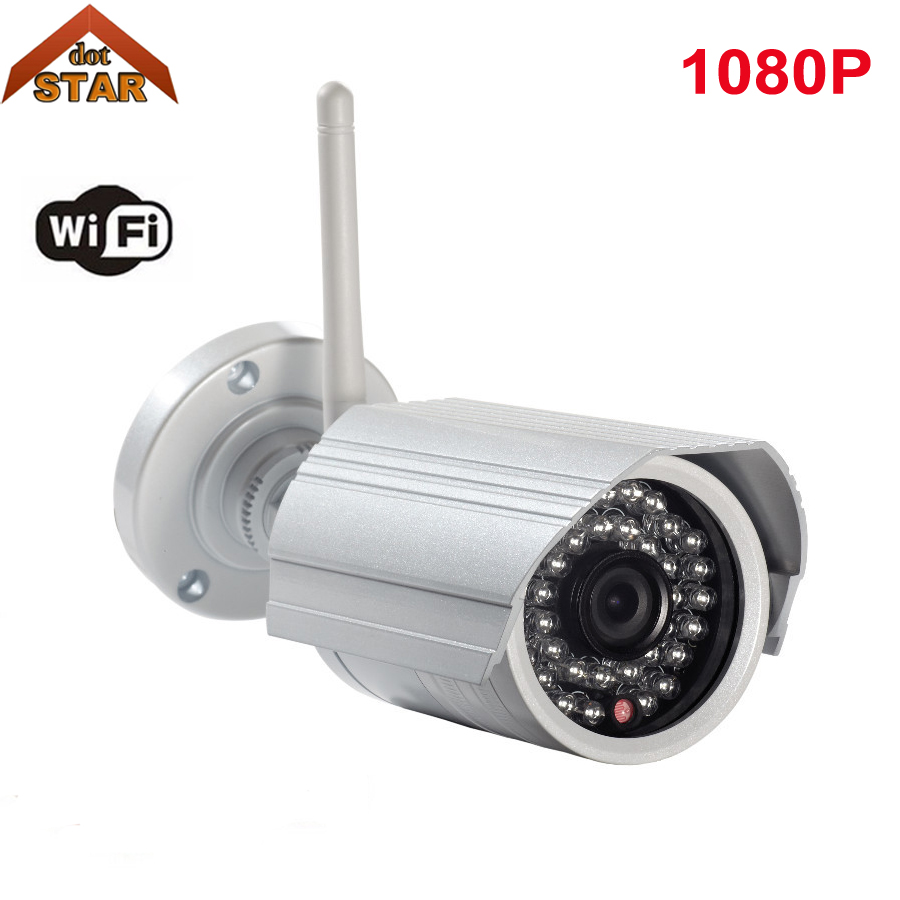 Stardot Outdoor Bullet IP Camera WIFI P2P Onvif IR Night Vision Security Surveillance Video Camera HD Wireless IP Camera 1080P h free shipping hd 1080p waterproof bullet ip camera wifi wireless outdoor surveillance camera onvif security ir night vision