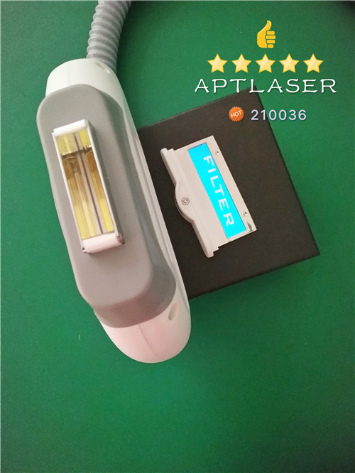 10 pcs real sapphire crystal ipl handle/ handpiece for beauty salon